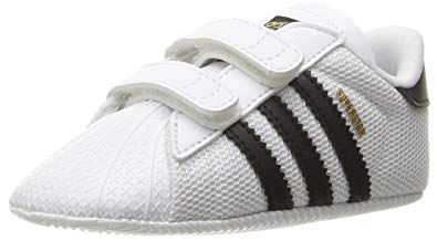 ADIDAS ORIGINALS shoes adidas originals baby superstar crib shoe, black/white, 1k m us infant TGWDQLX