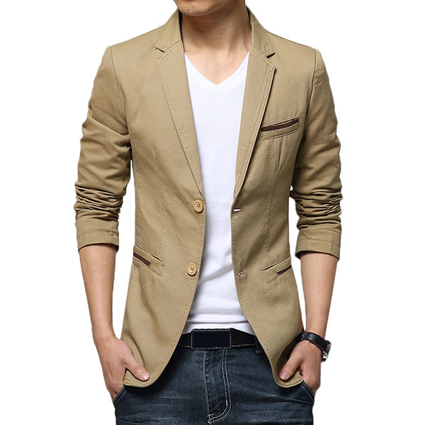 blazer for men plus size business casual slim fit solid color fashion blazers for men DYDMXXB