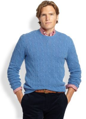 Blue cashmere sweater ... blue cable sweaters polo ralph lauren cable knit cashmere sweater ... WGLBBFM