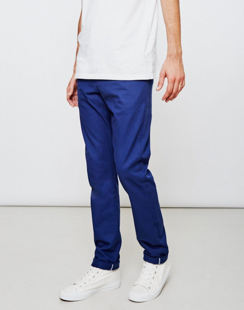 Blue Chinos: fashionable pants for men