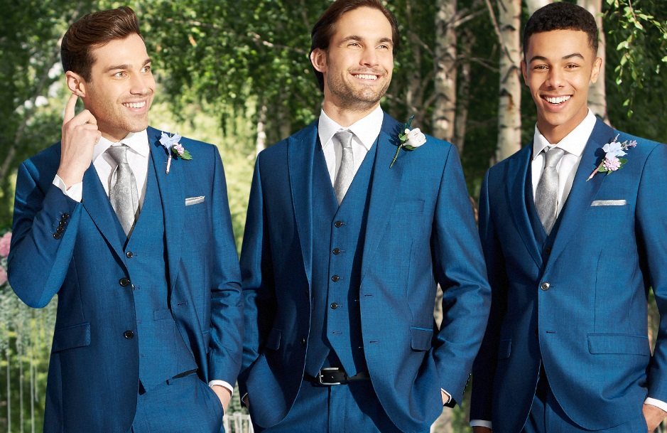BLUE WEDDING SUITS blue wedding suits for grooms BLAOUAO