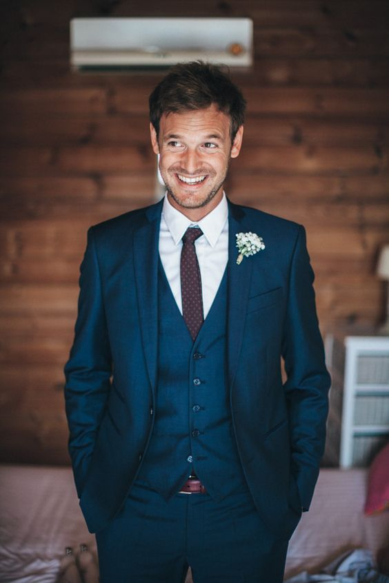 BLUE WEDDING SUITS wedding ideas by colour: blue wedding suits | chwv more QHBIBDL