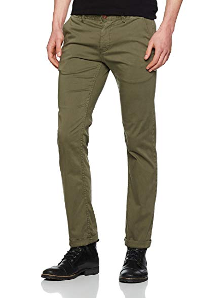 BOSS CASUAL Orange CHINOS boss orange schino slim 1d chino in khaki 32r FSMCYOB