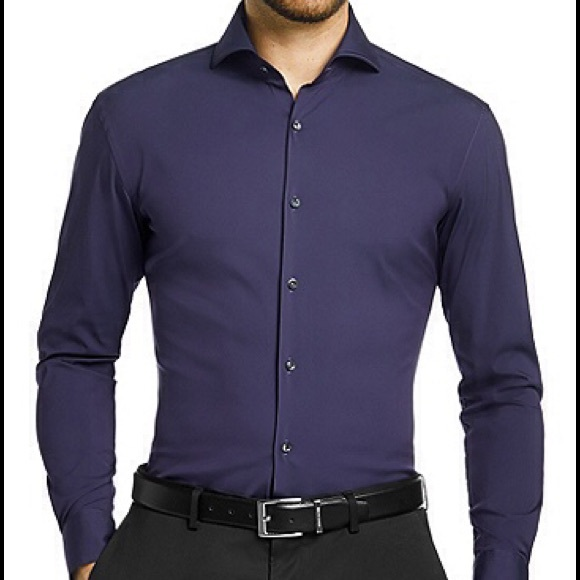 Combine BOSS shirts stylishly with your leisure outfit and business look