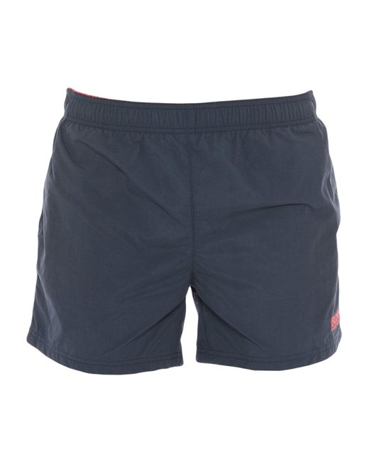 BOSS swimming shorts boss black - blue swimming trunks for men - lyst ... RYMSLNR