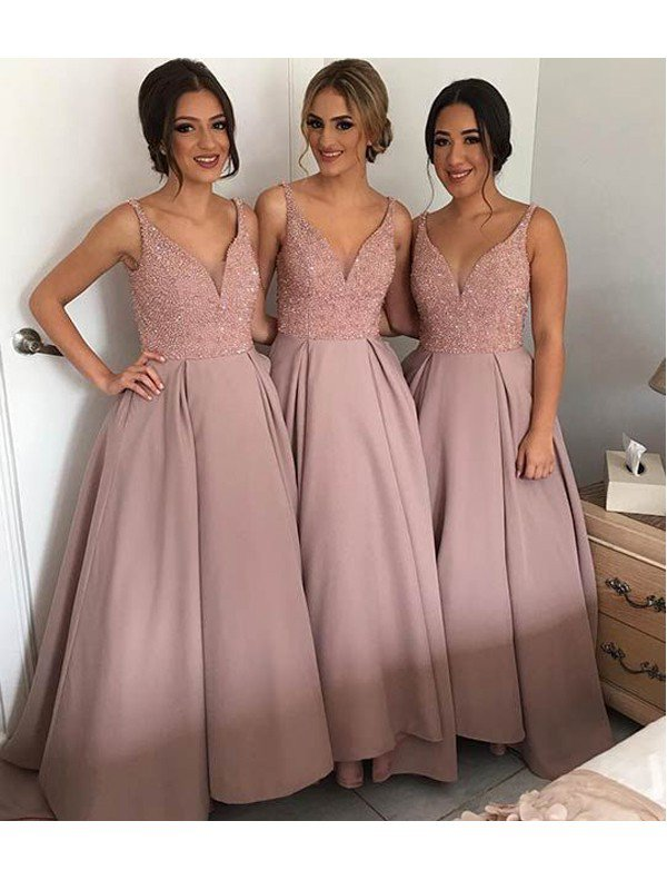 Bridesmaid Dresses Long a line bridesmaid dresses,lace bridesmaid dresses, long bridesmaid dresses,  cheap bridesmaid dresses MCLQKYD