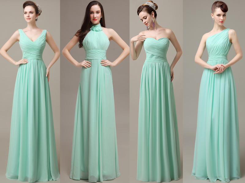 Bridesmaid Dresses Long mint bridesmaid dresses, cheap bridesmaid dresses, chiffon bridesmaid  dresses, long bridesmaid dress, custom IPZSBSS