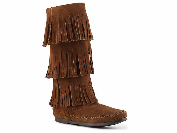 BROWN BOOTS minnetonka NUGJZIZ