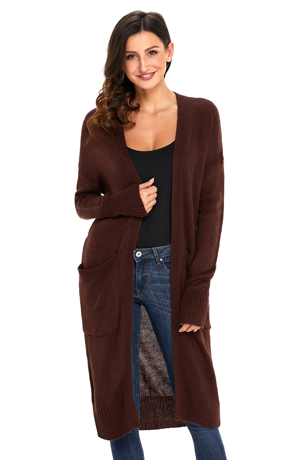 BROWN CARDIGANS -Cuddly favorite part for ladies