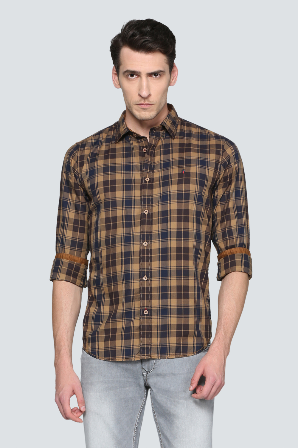 Brown shirts for men lp shirts, louis philippe brown shirt for men at louisphilippe.com FEZQERG