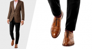 brown shoes with black pants VRLVIDY