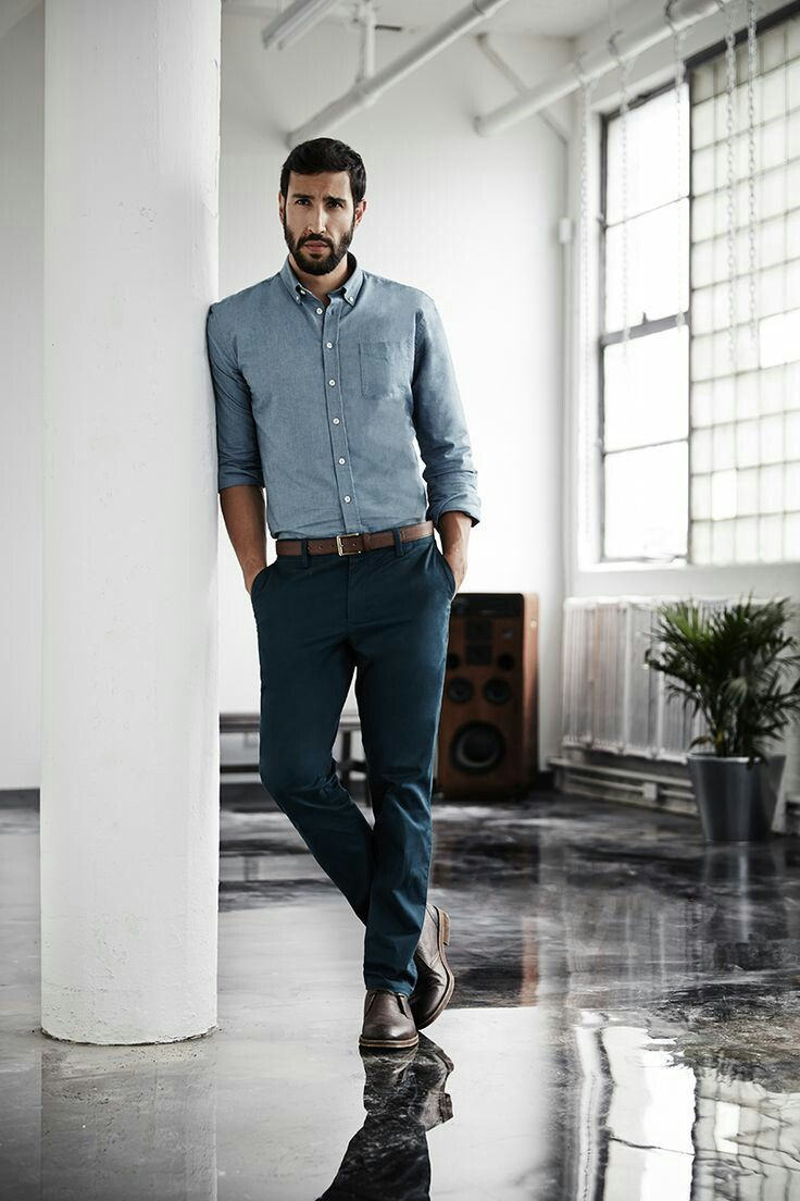 Business Casual Fashion for Men office style (him): a fantastic color palette for a business casual look  for LSDCSZX