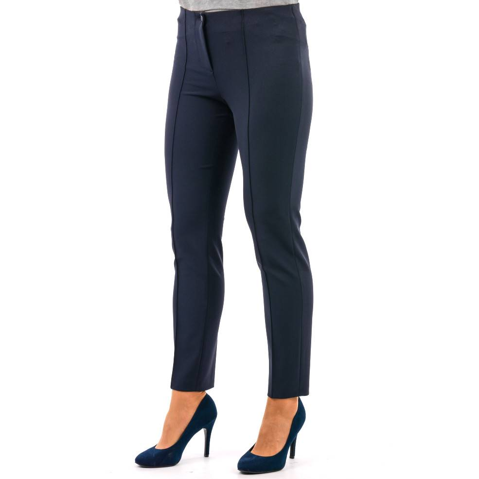 CAMBIO JEANS cambio cambio ros microfiber pants - navy ... TUUOSVX
