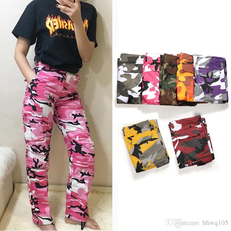 Camouflage Pants best hip hop camouflage pants men women fashion skateboard pants high  quality cotton casual cargo GXKNFEV