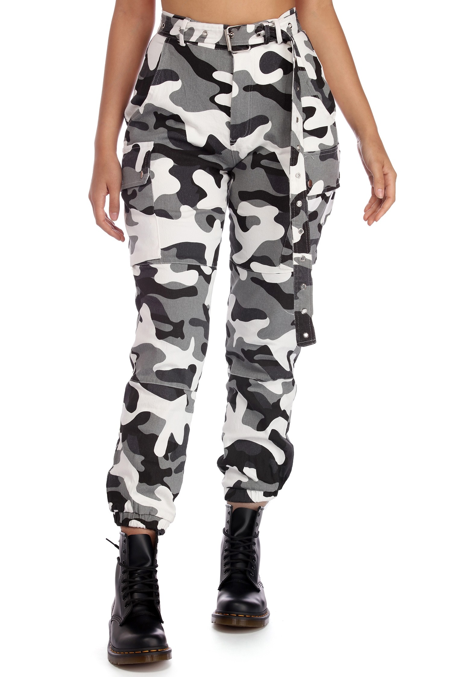 Camouflage Pants final sale- buckle up camo cargo pants KICCHBG