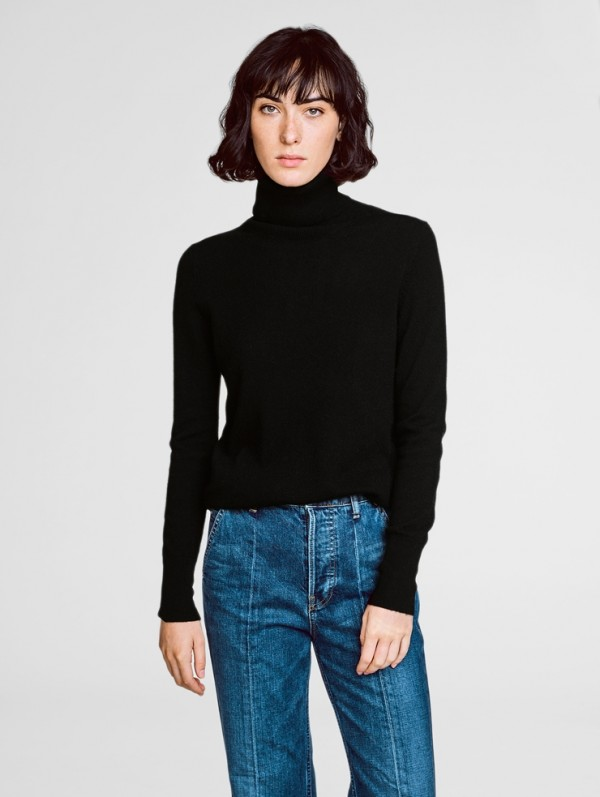 Cashmere turtleneck essential cashmere turtleneck DXOOVYH