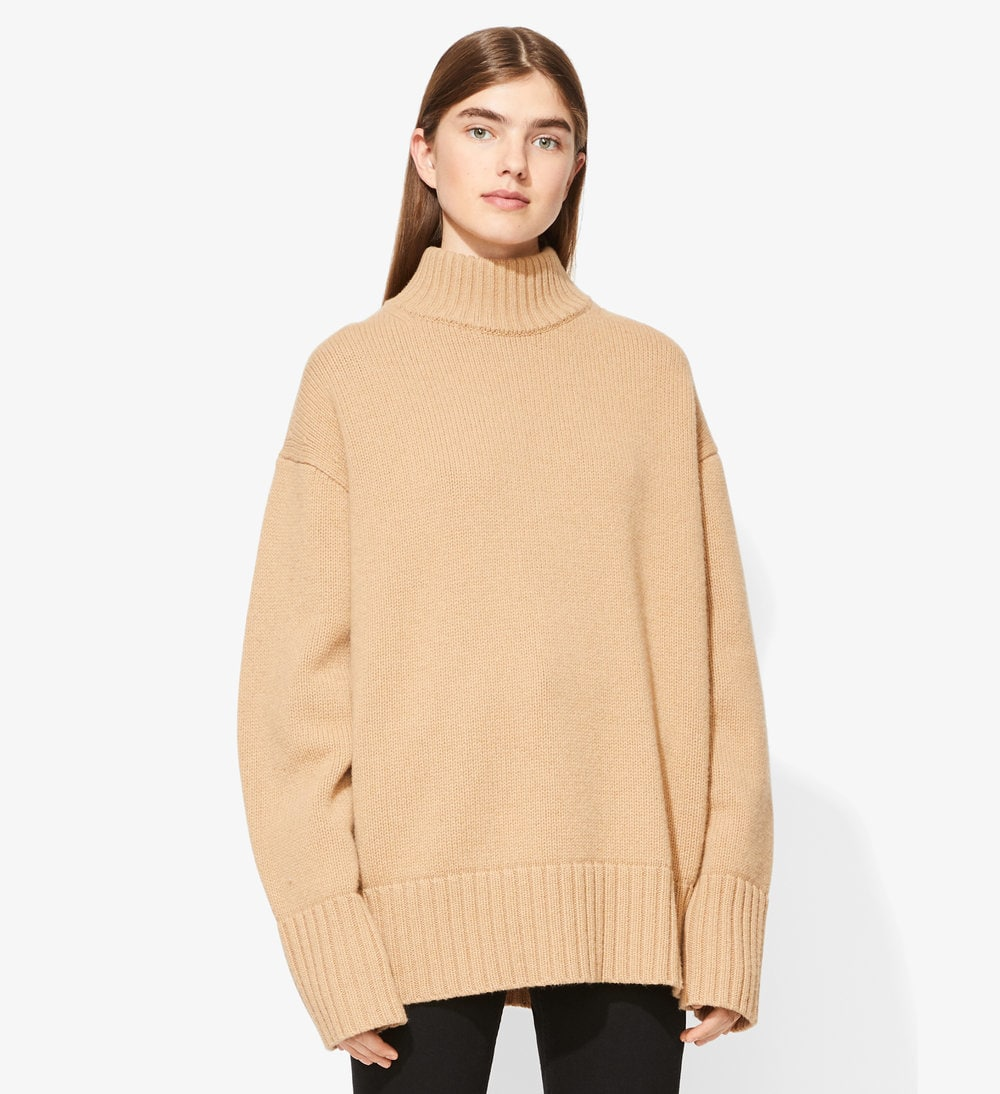 Cashmere turtleneck wool cashmere turtleneck sweater BTWNQZC