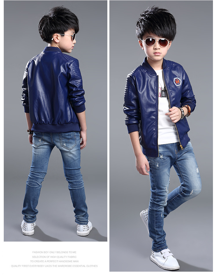 Children's jackets for boys undefined QJFDCSN