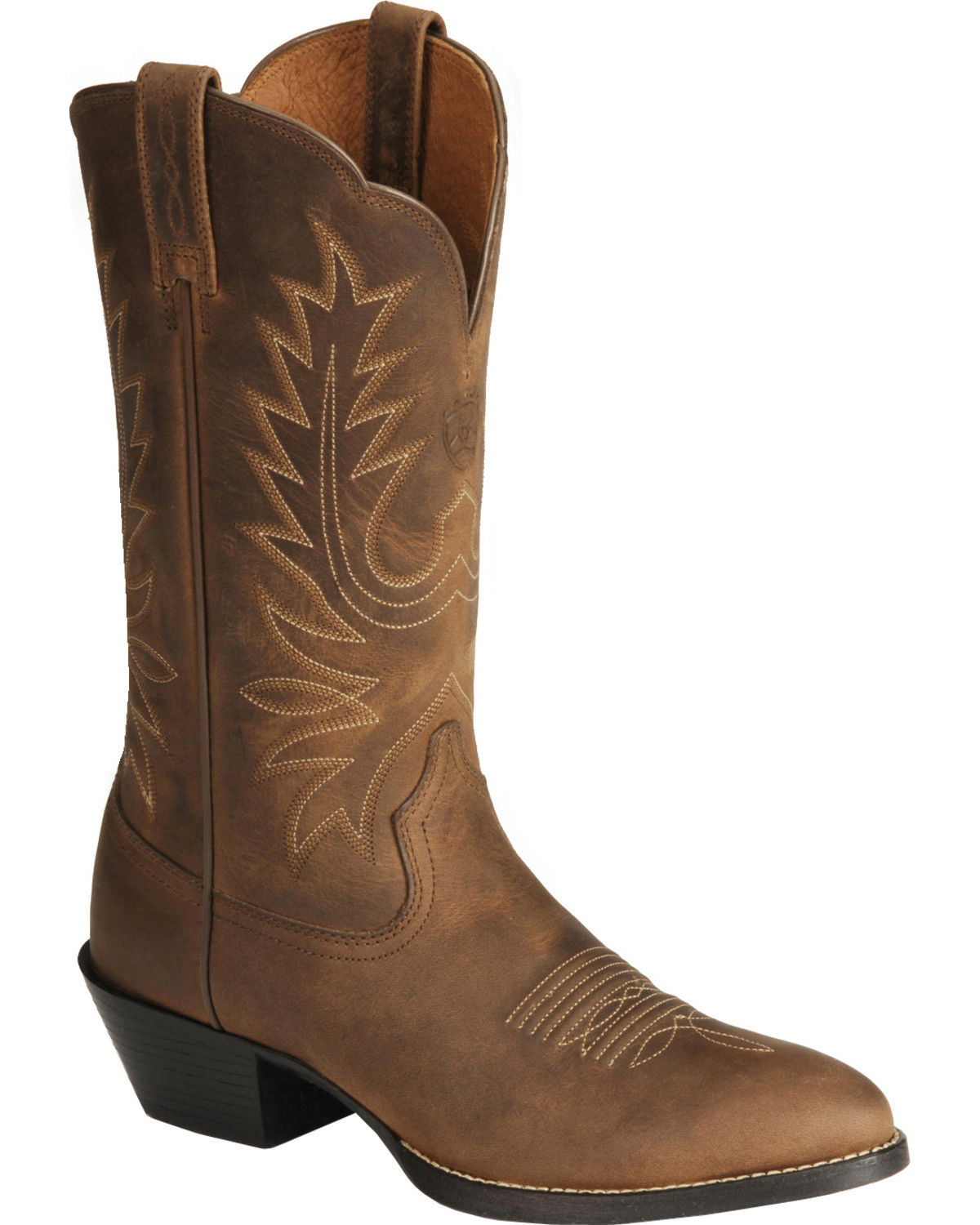 cowboy boots for women ariat womens heritage western boots - medium toe, distressed, hi-res ICBCIIN
