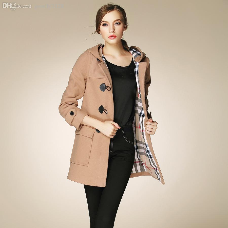 Duffle coat for women: trendy winter coat in a beautiful retro style