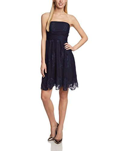 ESPRIT COLLECTION DRESSES esprit-collection-womens-sleeveless-dress-blue-blau-navy- BALIBBP
