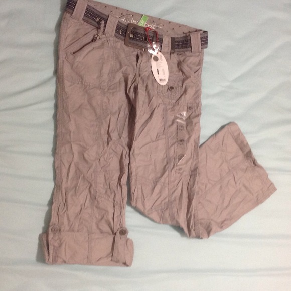 ESPRIT PANTS esprit cargo pant(belt included) TIVJCGS