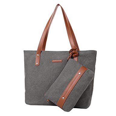 Fashionable bags vbiger women 2-in-1 shoulder bag set trendy 2 pieces tote bags stylish HMVCECR