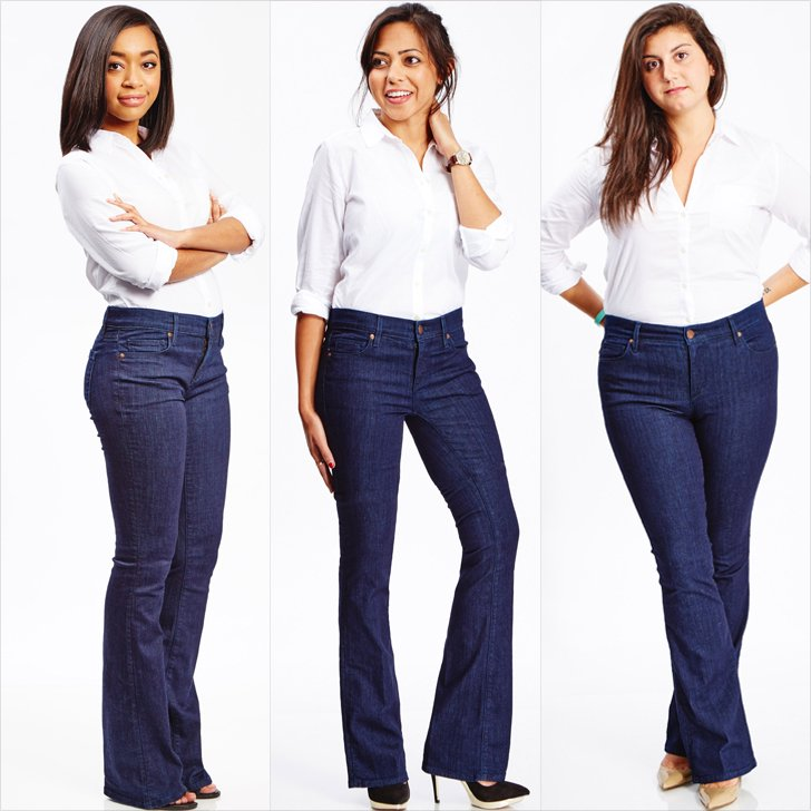 Flared jeans for women real women wearing flared jeans trend PUTVLKJ