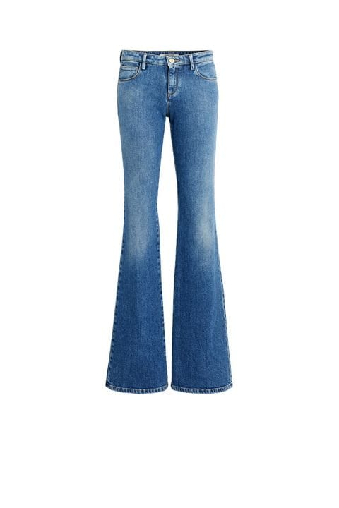 Flared jeans medium blue flared jeans KENBLQX