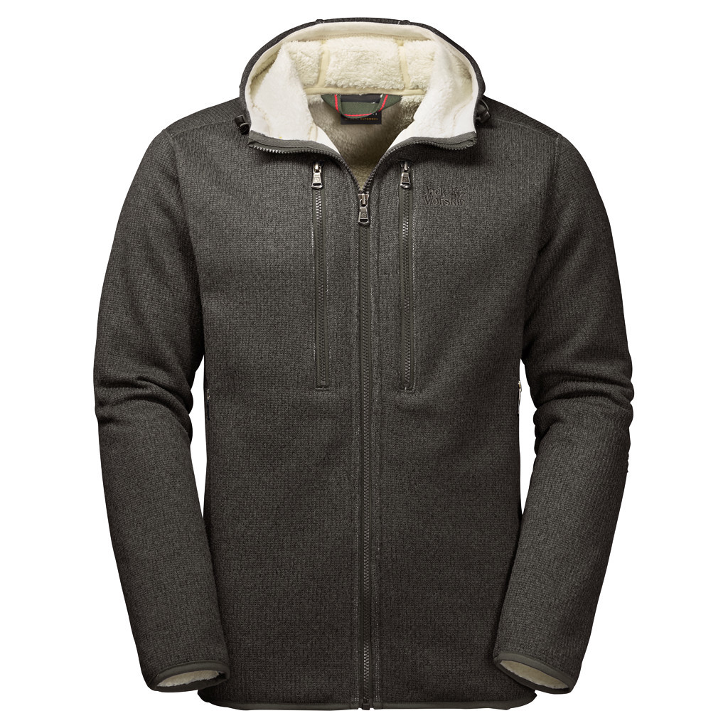 Fleece Jackets jack wolfskin men-s robson fleece jacket - 5043 pineweood JQBGLBP