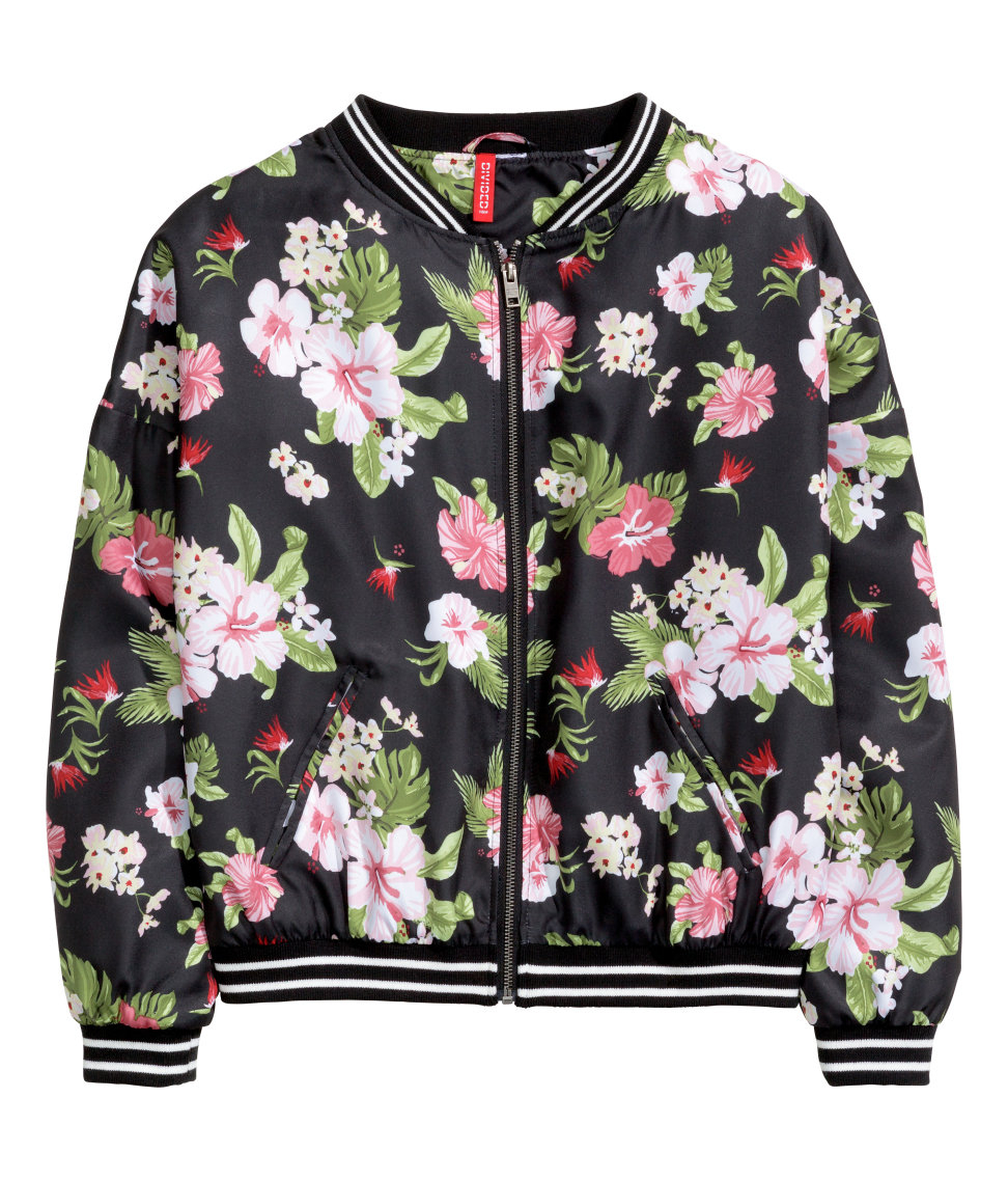 Floral Patterned Jackets gallery IFFYVUZ