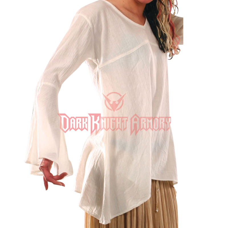 Flowing Blouses flowing womens medieval blouse UPMXWNI