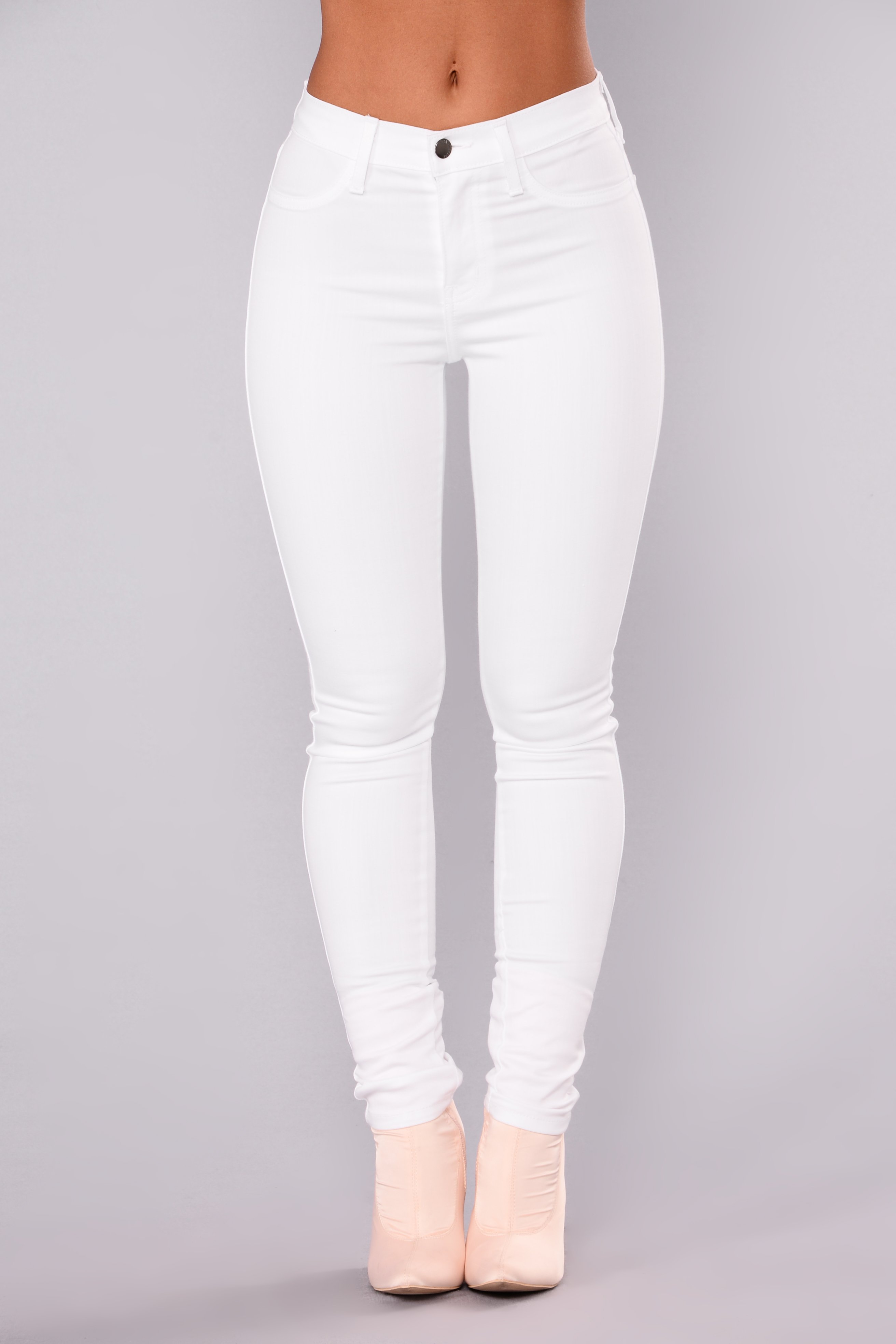 forever white jeans - white BIEALRB