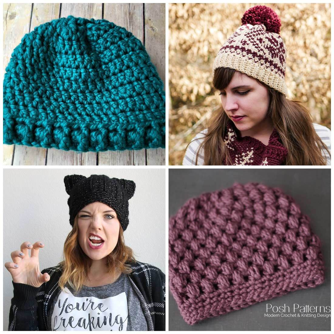 free crochet hat patterns | free crochet patterns | crochet patterns | use  these free KORDOHH