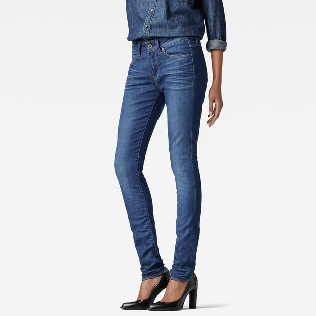 G-Star 3301 Jeans 3301 contour high skinny jeans | dk aged | g-star raw® WTCVFMN