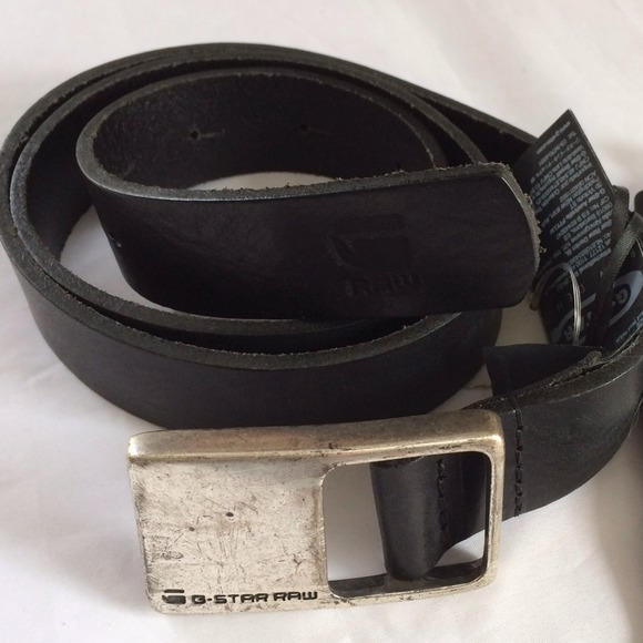 G-STAR BELT g-star raw correct line belt leather size m+xl RHPDRJU