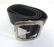 G-STAR BELT new g-star mens belt refresh banett belt black raw leather size 90 rrp $145 IMJMFAH