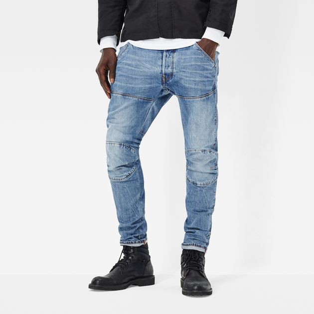 G-STAR RAW MEN'S JEANS 5620 g-star elwood 3d slim jeans | medium aged | g-star raw® LSAPYOK