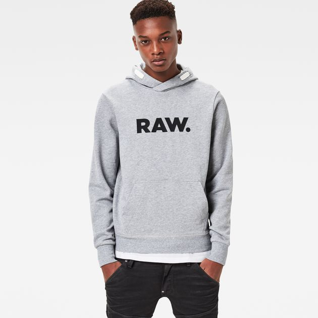 G-STAR RAW SWEATER g star raw mattow hooded sweater grey heather,g star overshirt,best value MQXYTNQ