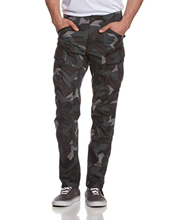 G Star Rovic Pants g-star raw - mens rovic zip 3d tapered cargo pants, 30w x 30l MBBZGAE
