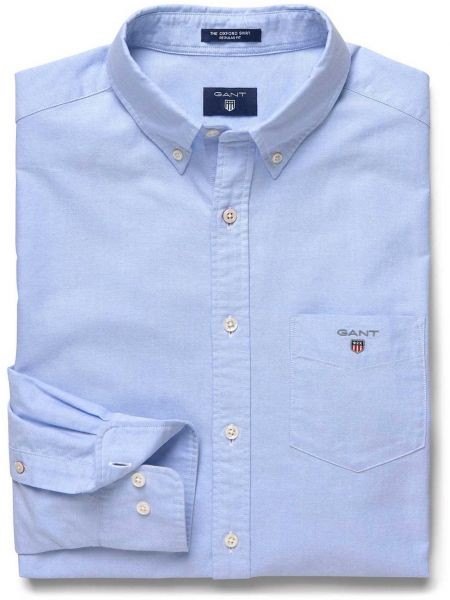 GANT SHIRTS gant shirt for men - blue KRVLOPM