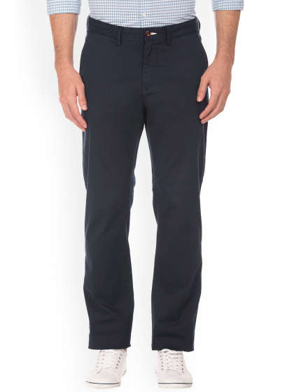 GANT TROUSERS men slim fit regular trousers QJYMXTG