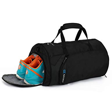 Gym bags for women inoxto fitness sport small gym bag with shoes compartment waterproof travel  duffel bag for women QADRVPX