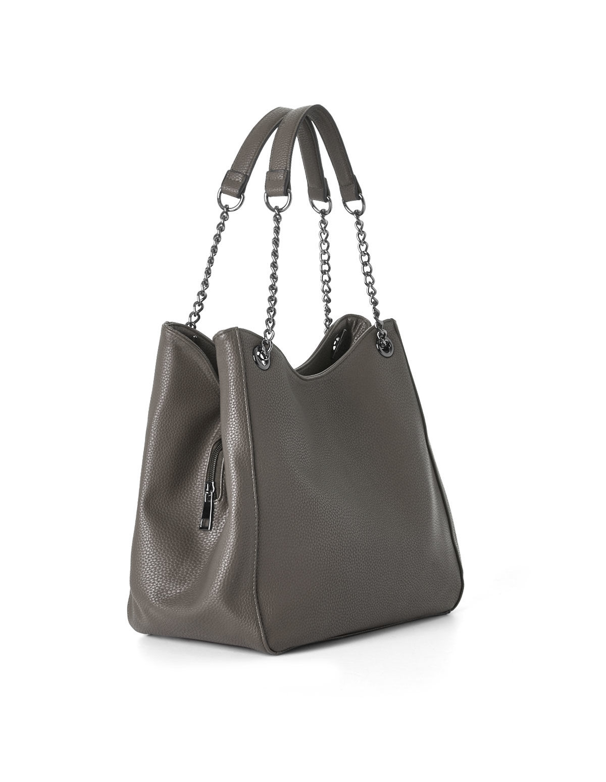 Handbags grey hobo tote handbag, grey, ... RPEVRCO