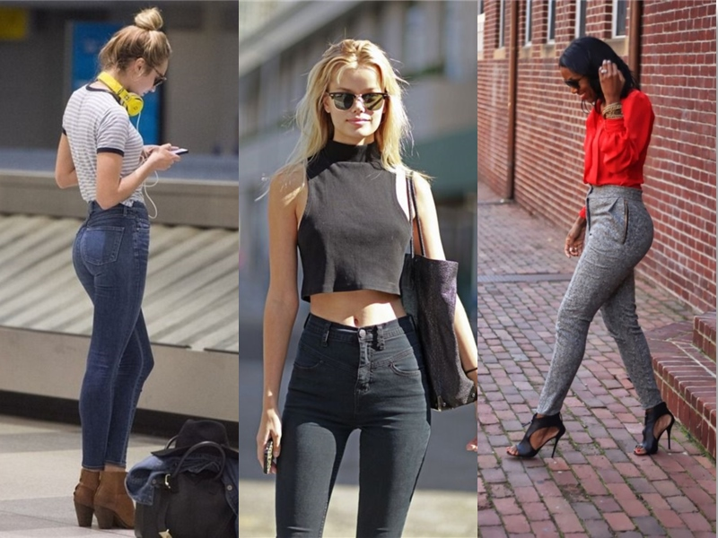 high waist jeans style high waisted jeans - street style (1) OHIRWDE