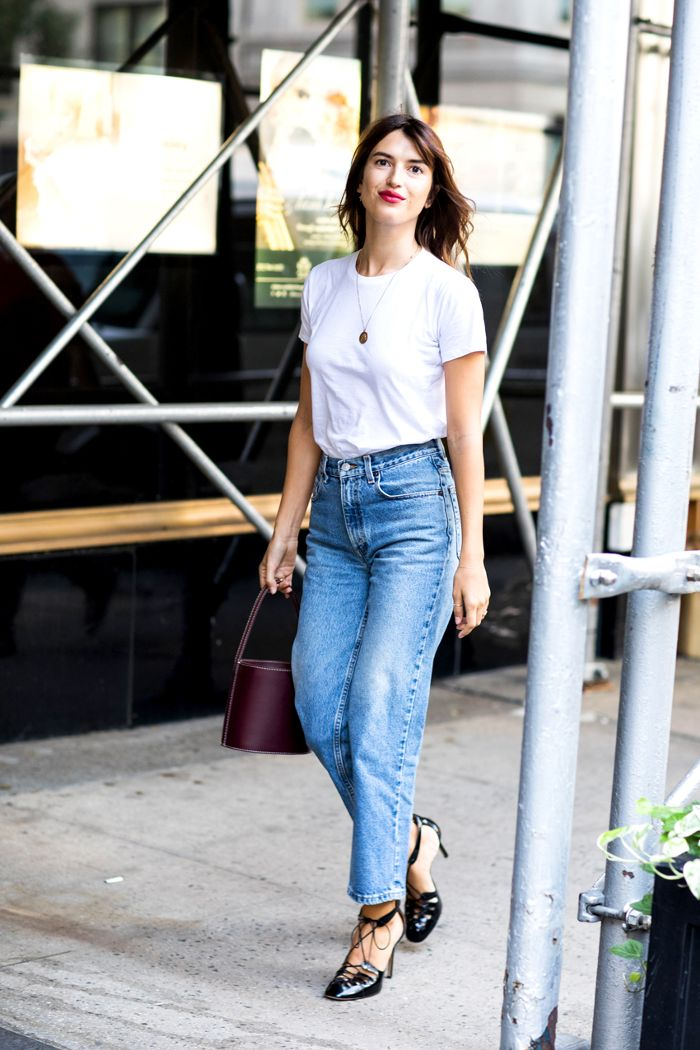 High waist jeans style ideas