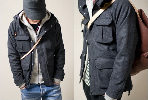 Hooded Parkas mountain hooded parka   by seth x anoutcommune AGRXDEC