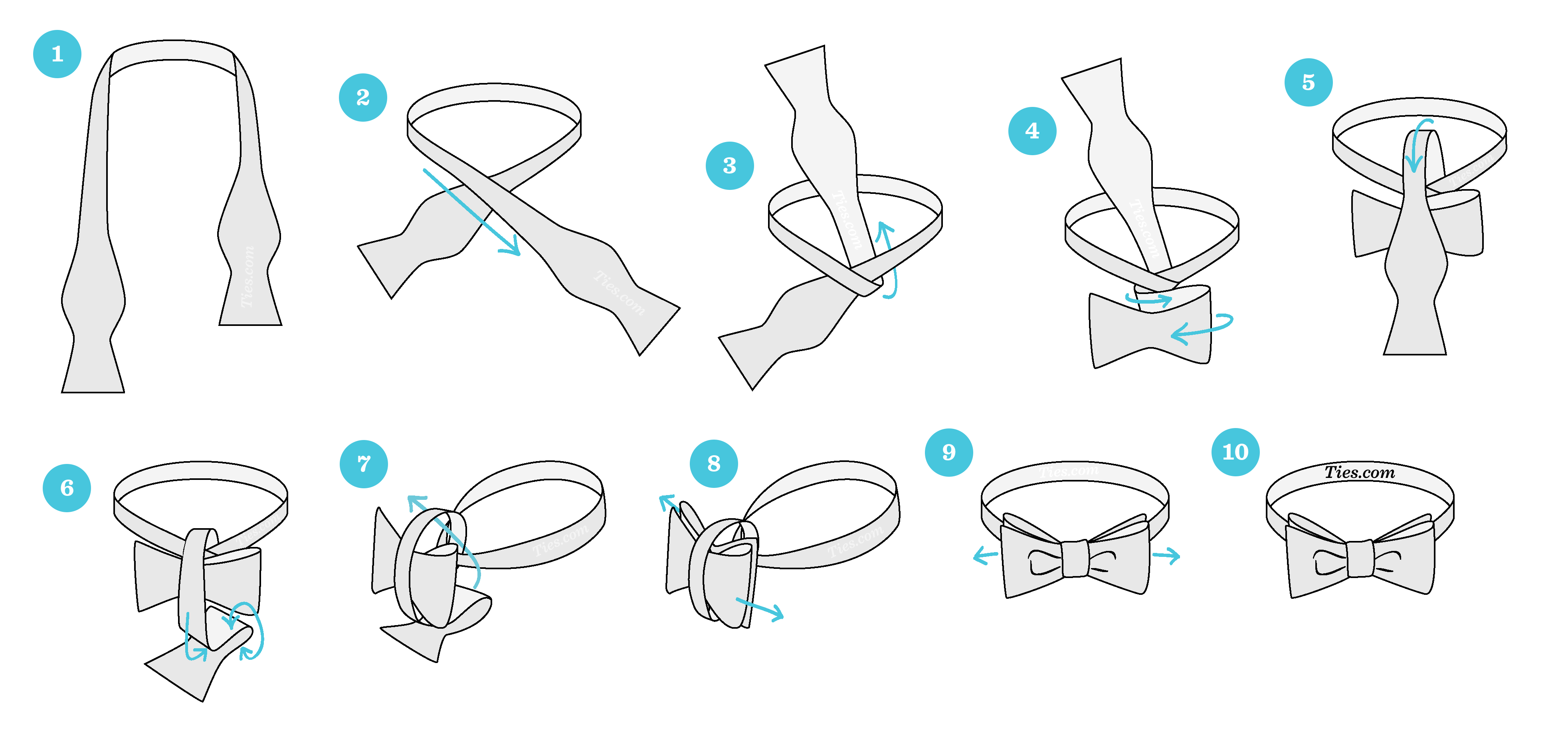 How to tie a bow tie bow tie tying instructions XNAEBWQ