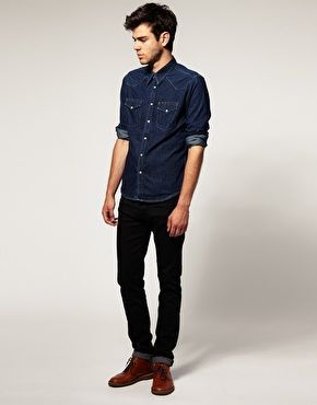how to wear brown shoes with black pants for men (20) GKKLPXI