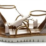 INUOVO Sandals – Sandals with platform heels in trendy designs